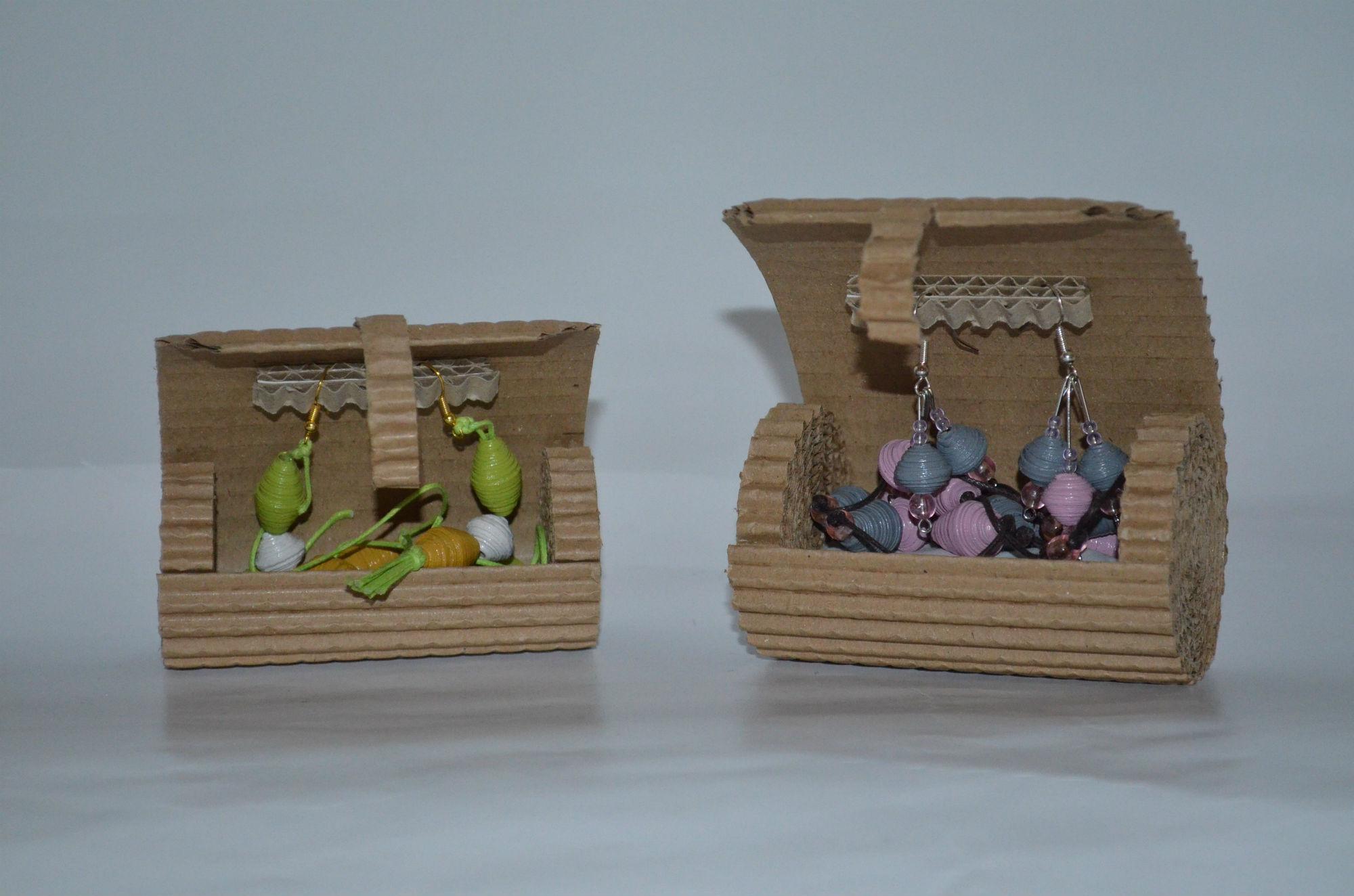 bijoux en carton parure bijoux mhc  Brazey en Plaine Bourgogne