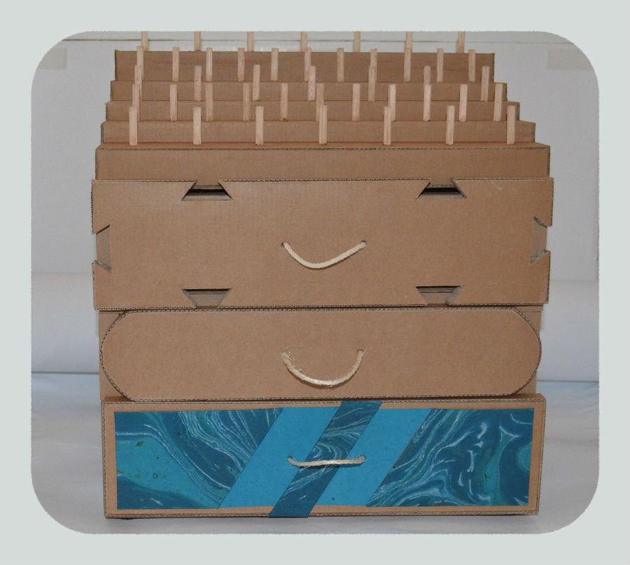 Rangements emboîtables mhc carton